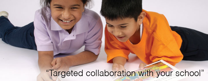 Targeted collaboration with your school